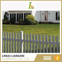 Reputable Factory Front Yard Fence PVC Slat For Fence