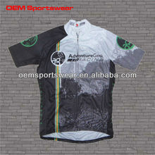 OEM service supply custom printed cycling jerseys