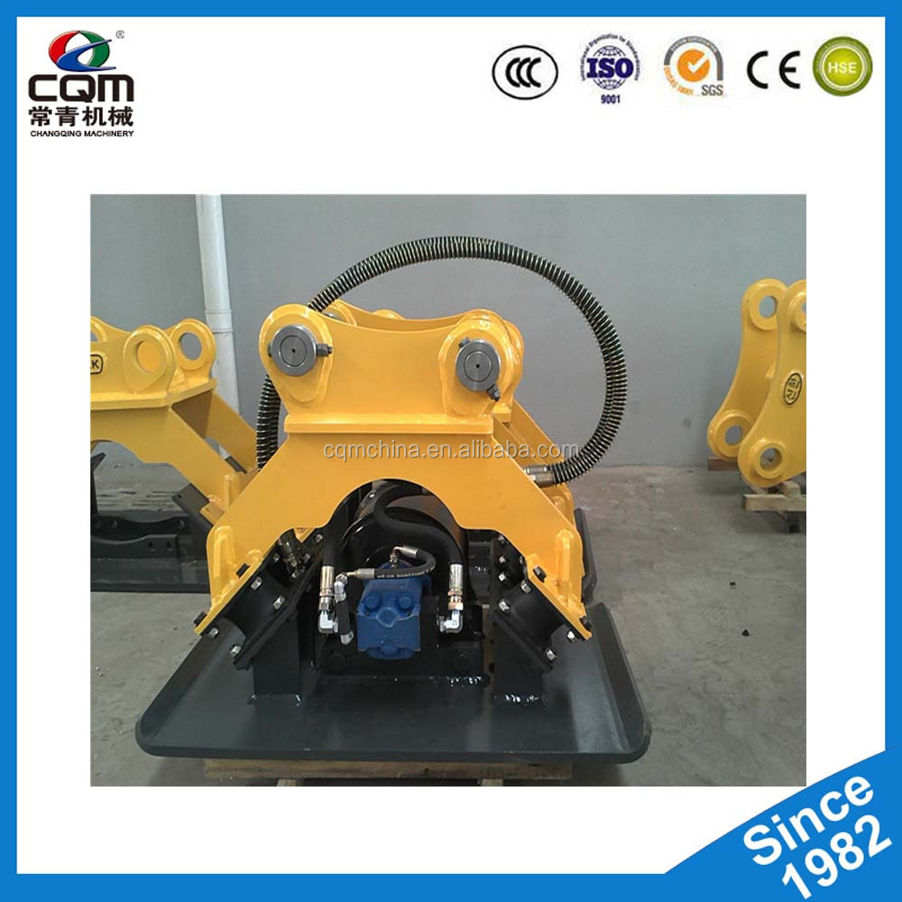 Excavator Hammer Hydraulic Vibrating Plate Compactor