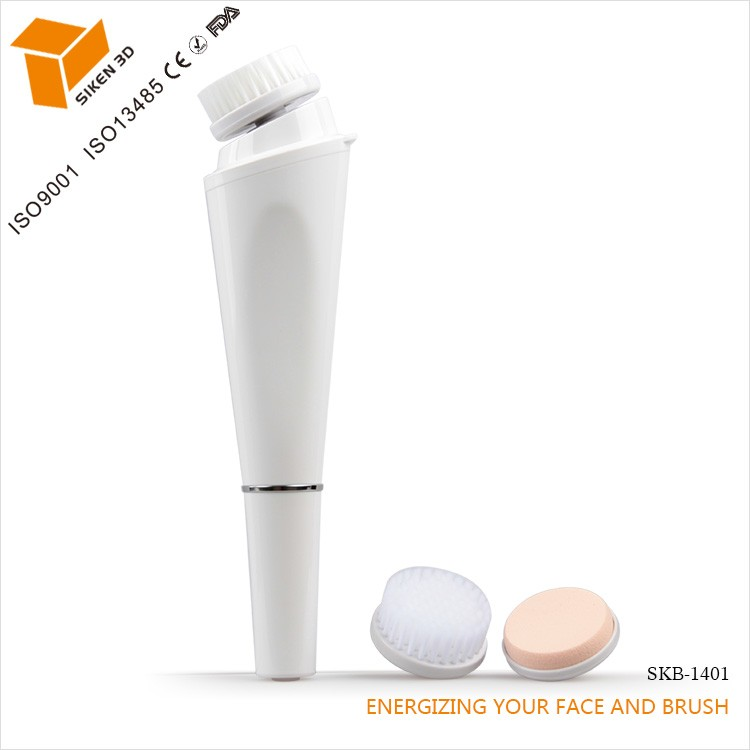 Rotation Makeup Puff Sonic Electric Facial Cleansing Brush Massage Brush