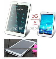 android tablet with phone calling 7 inch dual camera/ phone call tablet sim FSL 760 A20 G-sensor mid tablet