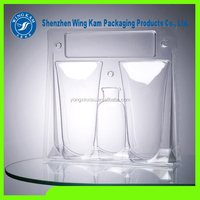 customized candle clamshell packaging box,PET/PVC blister clamshell packaging for candle/wax