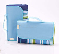 E058 Handy Carry Strap Water-resistant Picnic Time Blanket Tote for outdoor made in China