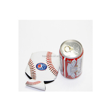 Customized logo printed stubby can cooler holder/neoprene baseball style/China factory cheap price