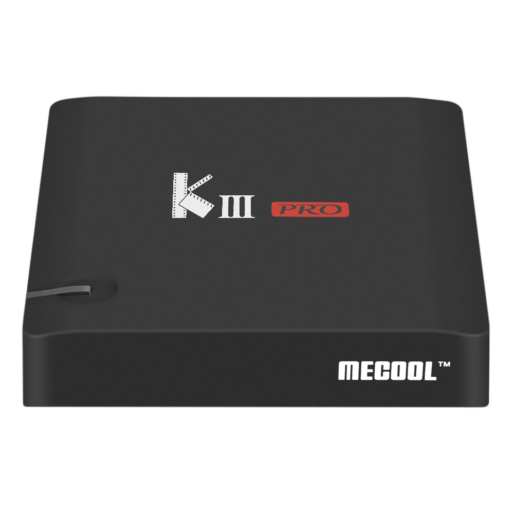Original MECOOL KIII PRO 3GB/16GB Android TV Box Amlogic S912 Octa core Android 6.0 Smart Tv Box 2.4G/5GHz <strong>WiFi</strong> 4K Set Top Box