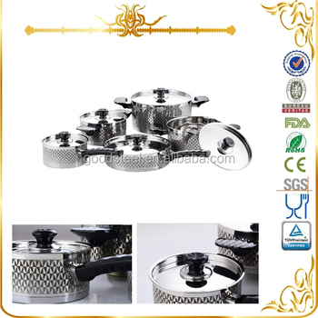 Msf 3056 chefline cookware cooking tool stainless steel for Kitchen queen set