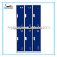 Cheap used metal lockers sale/metal used school lockers for sale/clothes storagecast iron locker