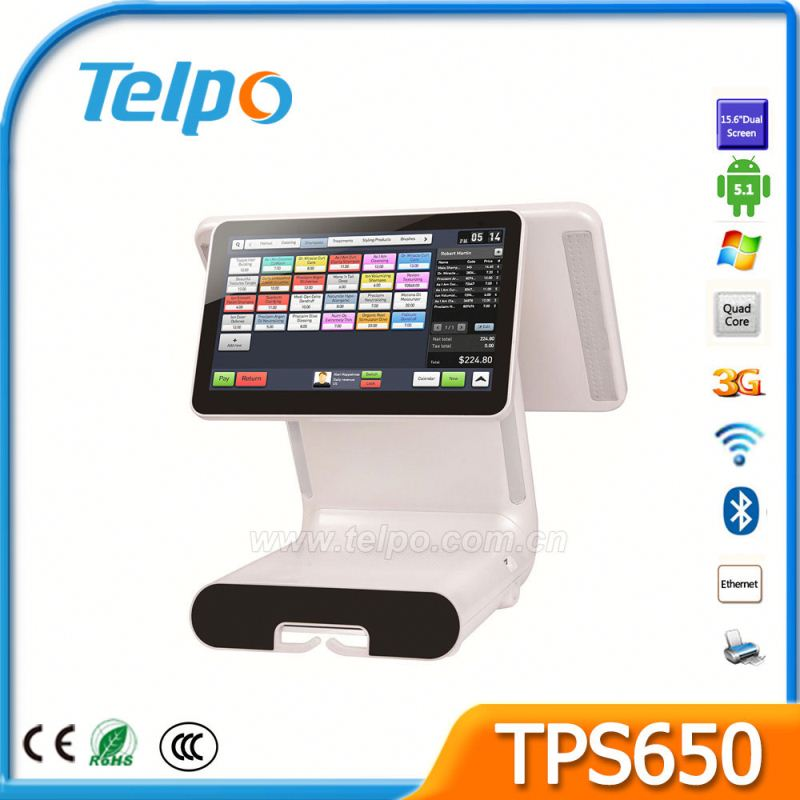 Factory Price fiscal pos cash register and pos system For cloth shop