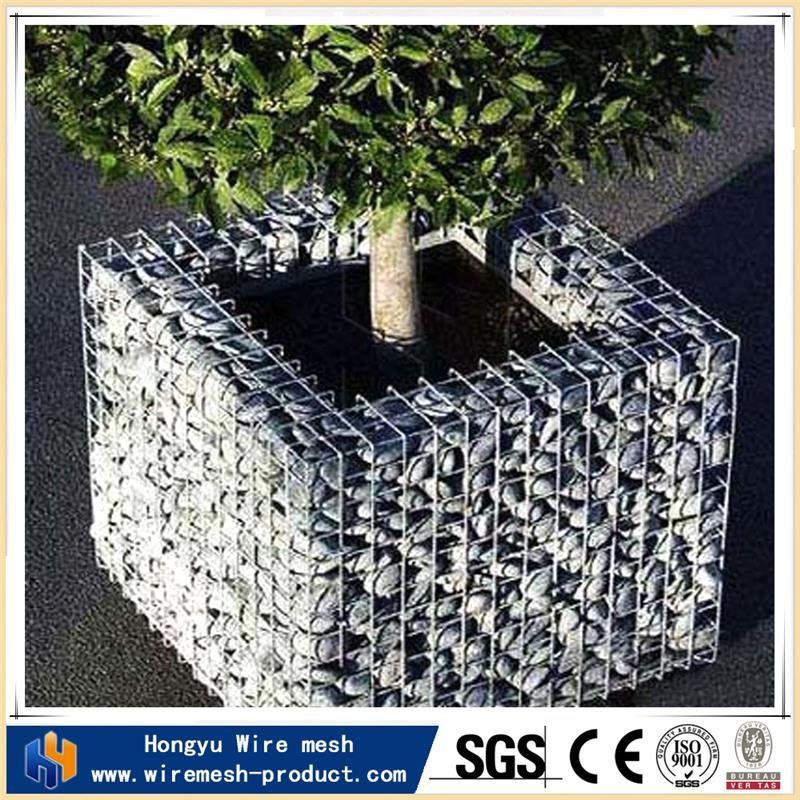 wire mesh planters gabion baskets for sale defensive barrier