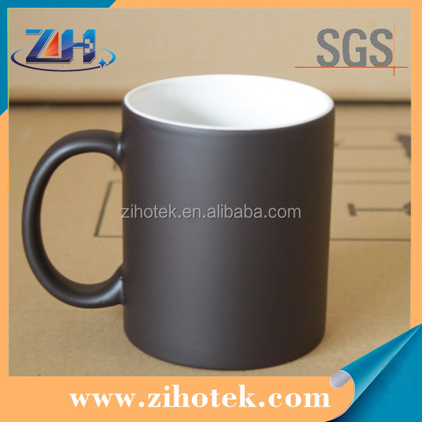 Sublimation blanks 11oz sublimation Discoloration mugs in matte surface
