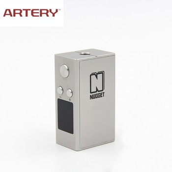2016 Newest e cig Artery vapor Nugget 50W TC MIni Box Mod wholesale China