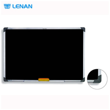 Office school supplies wall mounted small children blackboard with eraser