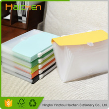 Stationery factory box file a4 size spring expanding file
