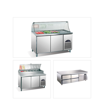 Cold salad bar equipment refrigerator container