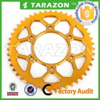 CNC Aluminum 7075 Anodized Motorcycle Chain Sprocket Wheel for Suzuki Dirt Bike
