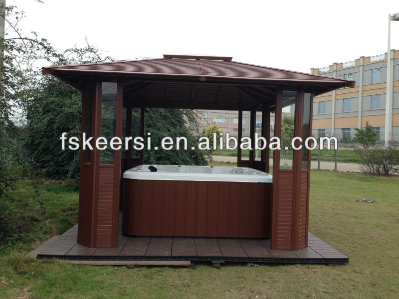 model outdoor garden PS(polystyrene) gazebo KEPSGA-001