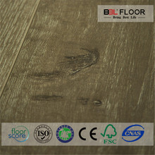 bubble gum waterproof wood parquet laminate flooring with TUV CE certification for Nigeria