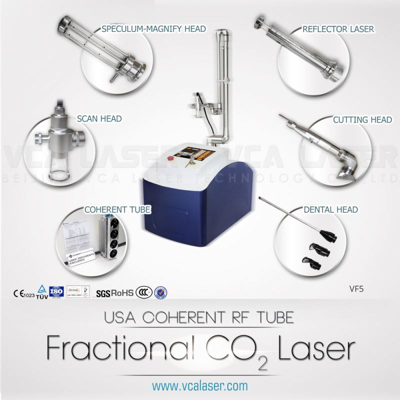 spa beauty machine equipment spare parts Fractional CO2 laser