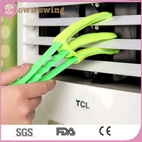 Handheld Blinds Cleaner Air Conditioner Cleaner Microfibre Detachable Window Triple Slats Cleaning Brush