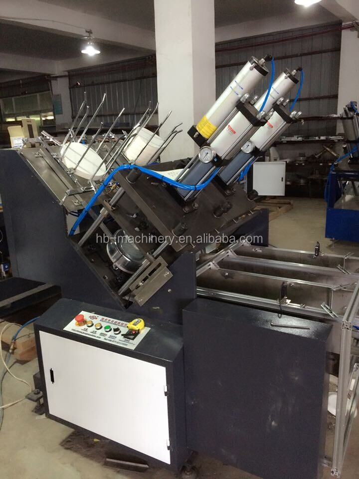 Automatic high quality speed paper dona/plate making/forming machine price