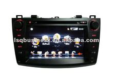 Mobile Multimedia/Car DVD Player For 2010 Mazda 3 With function Bluetooth,GPS,CD Player,Ipod control