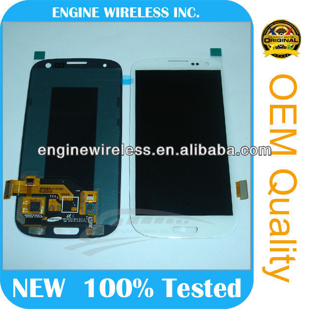 lcd replacement for galaxy s3 i9300 lcd touch screen, for samsung s3 lcd digitizer