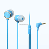 Computer accessories plastic mp3 earphones with cheap price for promotion