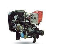 2 cylinder twin fuel saving diesel engine 30hp