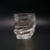 Set of glass cup 11oz glass drinking cup with glass bottle wholesale