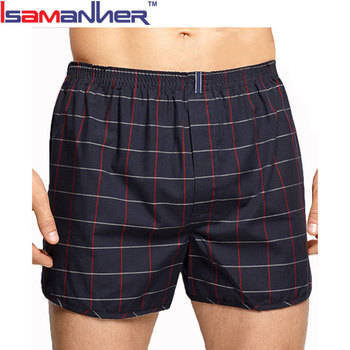 Brand names classic panties woven mens boxer shorts underwear