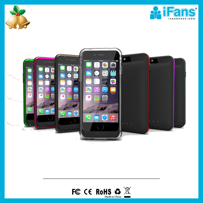 For iPhone6 cover battery 2400mAh