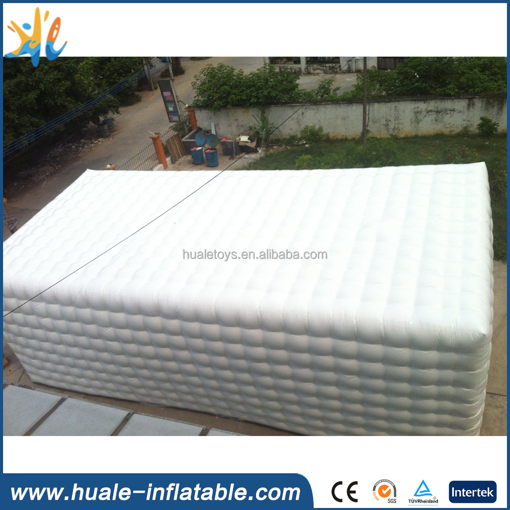 hot selling inflatable cube tent, inflatable wedding tent