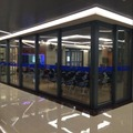 China manufacturer custom design aluminum pocket door