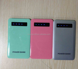 portable power ROHS 2600 mah mobile power bank PB007 mobile phone charger with one year warranty