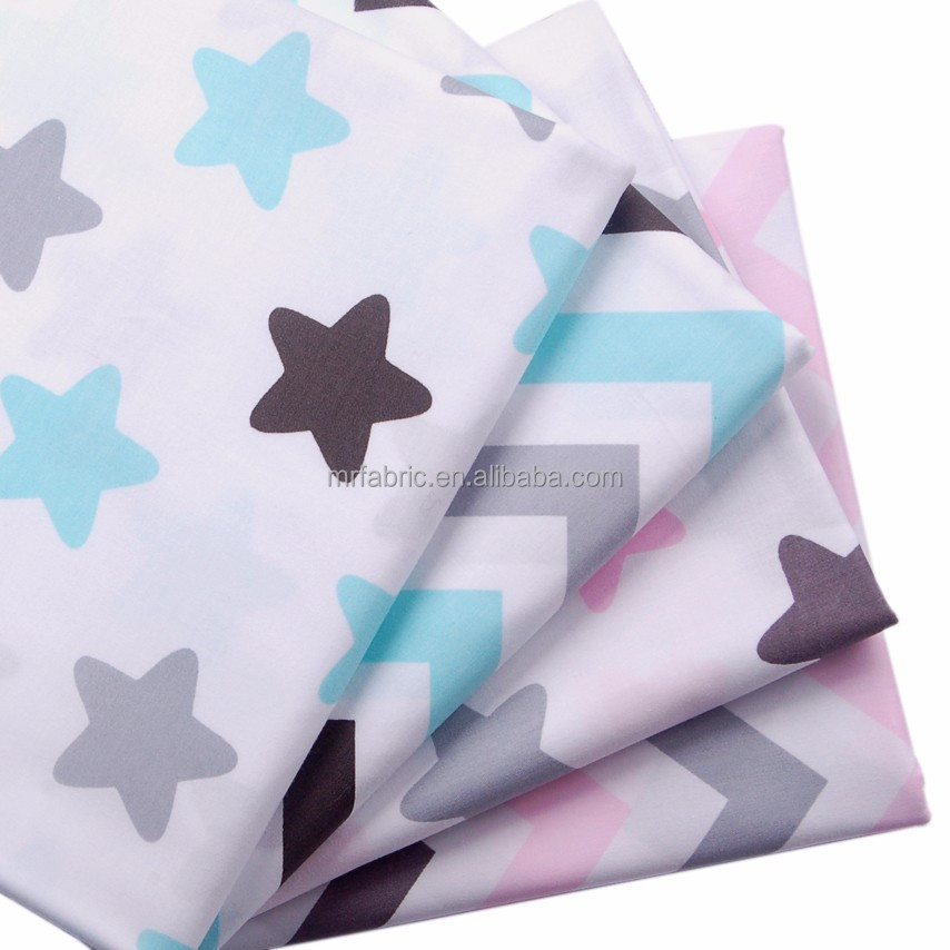 Star Line environmental printed 100% cotton cloth 133*72 twill fabric of 1.6 meters wide