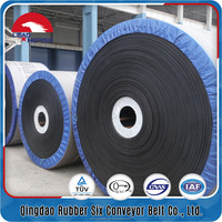 China heat resistant rubber conveyor belting for stone crusher