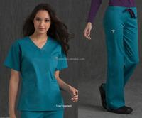 womens medical scrubs suit nurse uniforms china