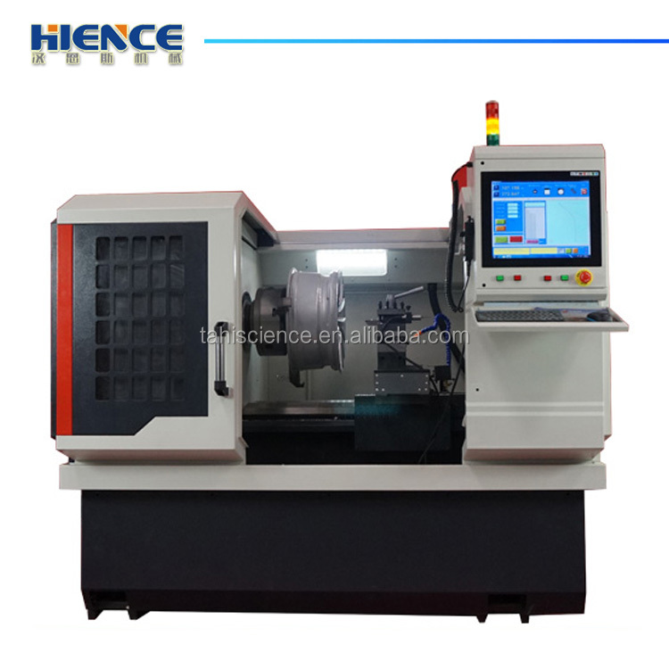 RIM REPAIR ALLOY WHEEL CNC LATHE MACHINE FOR WHEEL REPAIR AWR28H-PC