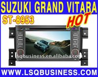 special Suzuki Grand Vitara car video with GPS, canbus, bluetooth, rds, FM and other functions