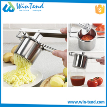 Best price utility round potato masher stainless steel machine