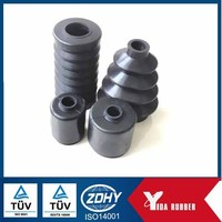 EPDM/ NBR /NR sleeve rubber bellows silicone corrugated tube manufacturer