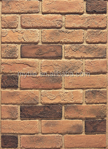 Artificial stone wall panel imitation brick for house decoration