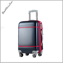 2015 latest product abs pc hard shell colorful portable luggage