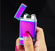 2017 Dual arc infrared ray ignition usb lighter super electric