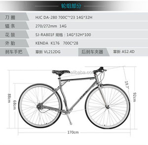 700C classic bicycle city womens bike / vintage style no chain bike bicycle popular direct China bicycle factory