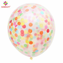 Sunbeauty China Wholesale birthday ballons confetti ballons baby shower ballons
