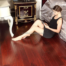 Prefinished different colors stained solid Asian Teak hardwood Flooring Tiles