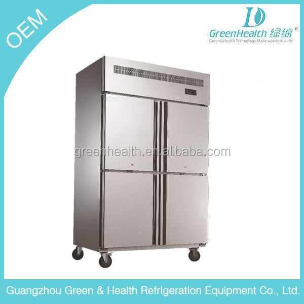 China manufacturer 1000L CE /stainless steel commercial kitchen refrigerator/ chiller GH-1.0L4