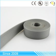 surprising low price thick synthetic material covers elastic patterned polyester webbing