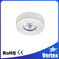 Dimmable 4W COB Retail LED Cabinet Light LED Under Cabinet Lights